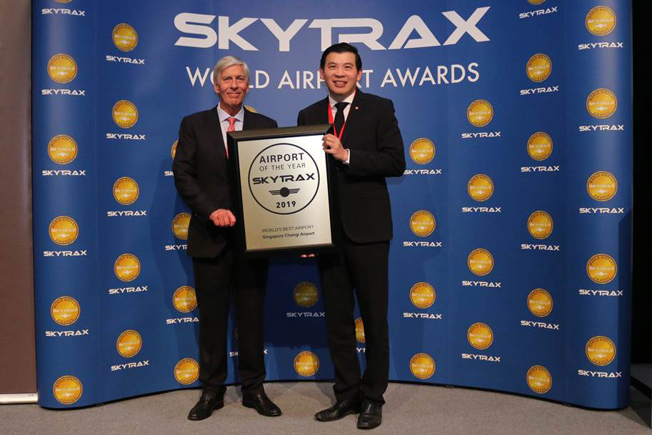 Changi Worlds Best Airport Skytrax 2019 large